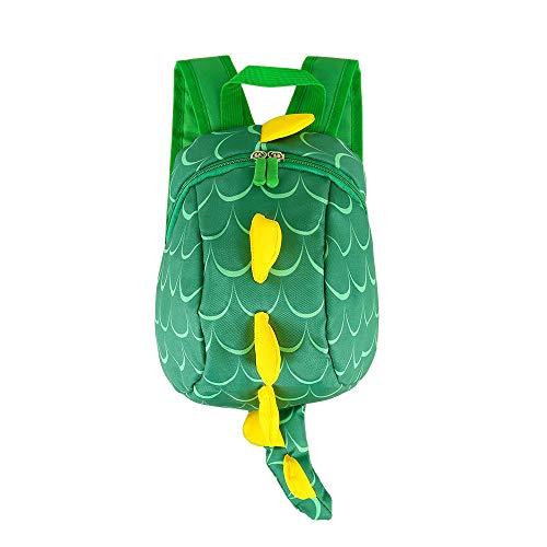 LBLA Toddler Dinosaur Backpack with Reins, Safety Harness Small Rucksack for Children/Kids/Boys/Girls