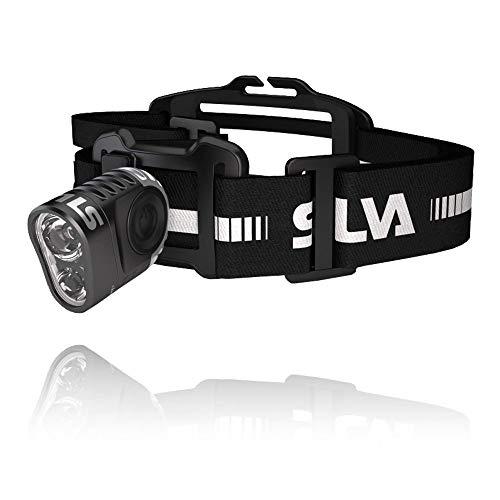 Silva Schneider Trail Speed 3XT - Linterna (Linterna con cinta para cabeza, Negro, Acrilonitrilo butadieno estireno (ABS), Aluminio, IPX5, LED, 2 lámpara(s))