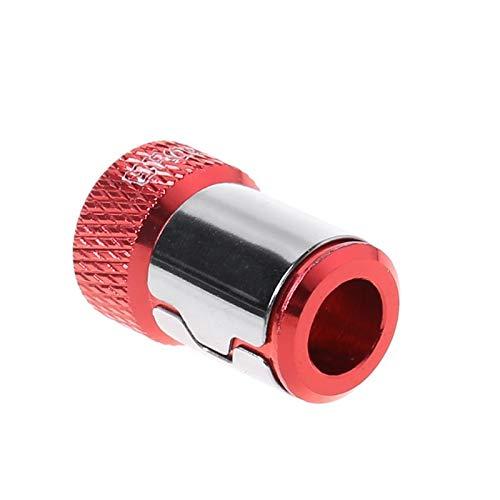 WUYANJUN Destornillador de Anillo magnético, Lote de 1/4'de Broca de Destornillador de Metal más imán, para Punta de Destornillador de 6.35 mm, 4 Piezas