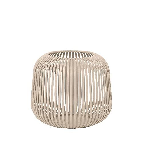 Blomus - Laterne - Windlicht - Normad - Small - Maße (ØxH): 20,5 x 17 cm - Farbe: Beige - Normad, weiß, 1
