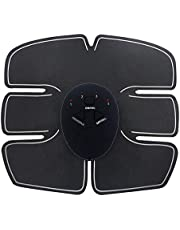 Wazdorf 6 pack abs stimulator/Wireless Abdominal and Muscle Exerciser Training Device Body Massager/6 pack abs stimulator charging battery/mart Fitness Abs Maker/Exerciser Training Device