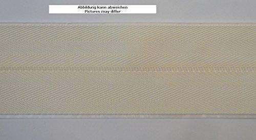 Ruther & Einenkel Teppicheinfassband selbstklebend, Breite 50 mm/Aufmachung 5 m (Off-White)