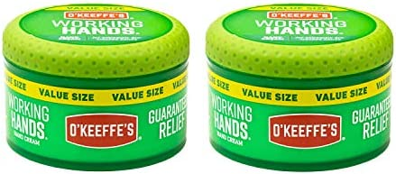 Deal on O'Keeffe's Working Hands Hand Cream Value Size, 6.8 ounce Jar, (Pack of 2)