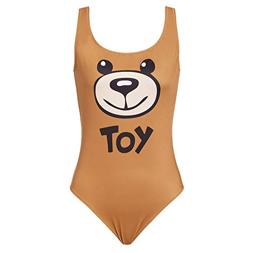 Moschino Damen Kostüm Badeanzug 2A8110-5955 Braun - III