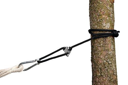 Amazon Smartrope Black waterdichte verstelbare ophanging voor hangmatten en hangstoelen 320 cm tot 150 kg per touw zwart