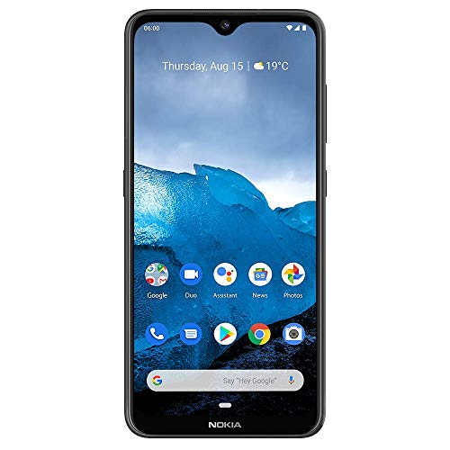 "Nokia 6.2 - Android 9.0 Pie - 64 GB - Triple Camera - Unlocked Smartphone (AT&T/T-Mobile/MetroPCS/Cricket/Mint) - 6.3"" FHD+ HDR Screen - Black - U.S. Warranty"