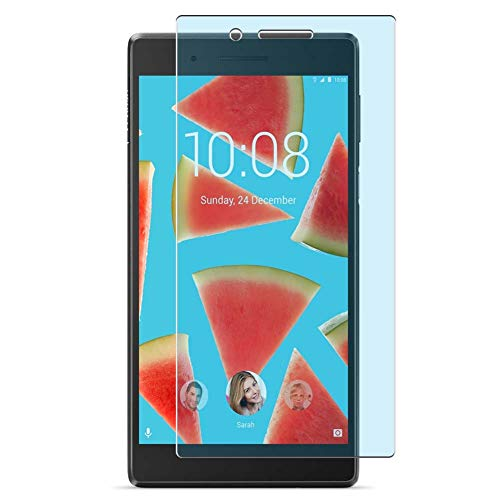 Vaxson 2-Pack Anti Blue Light Screen Protector, compatible with Lenovo Tab4 7 TB-7304 Essential 7' Tab 4, Blue Light Blocking Film TPU Guard [ NOT Tempered Glass ]
