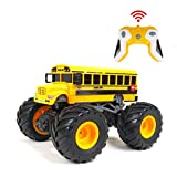 【1/18 Big Foot RC Car】 The remote control bigfoot series carefully restore various city service vehicles, and are equipped with large all-terrain tires. Maximum speed 12KM/h ensure the safety for children. 【2.4Gzh Radio Remote Controlled】 More than 8...