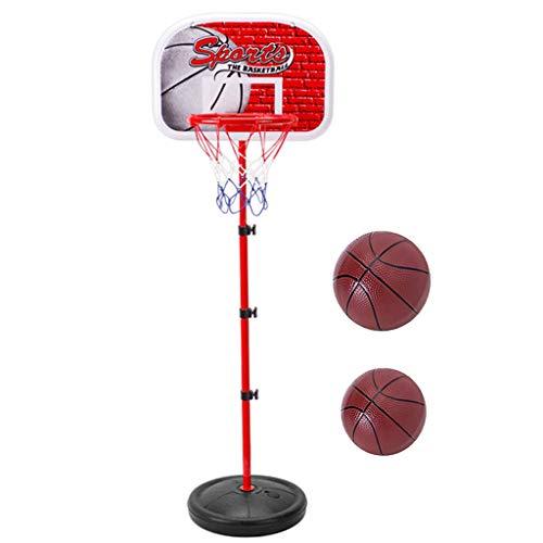 Baosity Mini Adjustable Ball Sports Toy for Basketball Hoop Rack