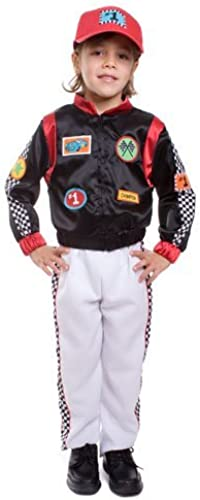 Race Car Driver- Small 4-6 by Dress Up America