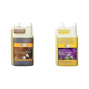 Makana Schwarzkümmelöl für Tiere, kaltgepresst, 100% rein, 1000 ml PE-Dosierflasche (1 x 1 l) 2