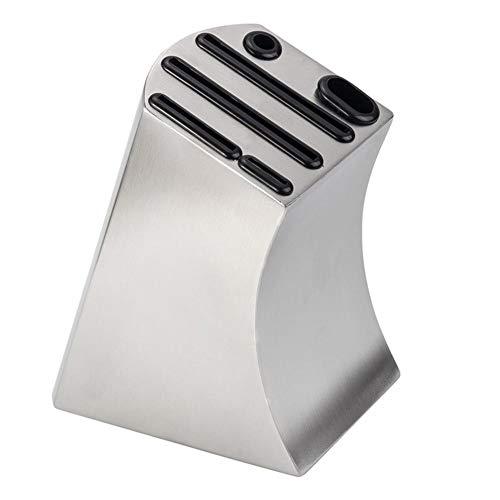 QUUY - Soporte de cuchillos de acero inoxidable para cocina en el hogar