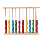 ZZALLL Wooden Abacus 10-Row Colorful Beads Contando Kid Math Learning Juguete...