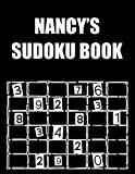Nancy's Sudoku Book: Sudoku book large print 320 puzzles easy. gift for adults and kids