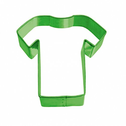 studio four Party Moldes Camiseta Galletas Moldes de fútbol Soccer WM, 1 Unidades, Color Verde: Amazon.es: Juguetes y juegos