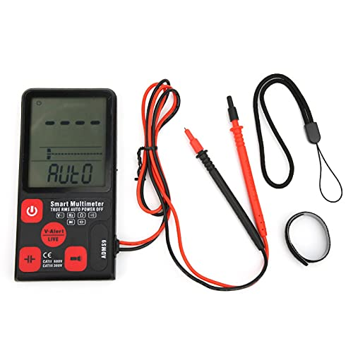 Multímetro de 9999 cuentas, multímetro, portátil, fácil de operar, duradero para electricistas