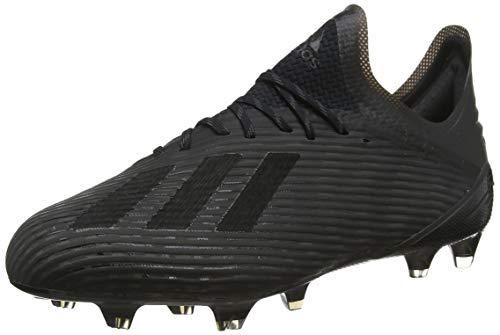 adidas Herren X 19.1 Fg Fußballschuhe, Schwarz (Core Black/Utility Black/Silver Met. Core Black/Utility Black/Silver Met.), 39 1/3 EU