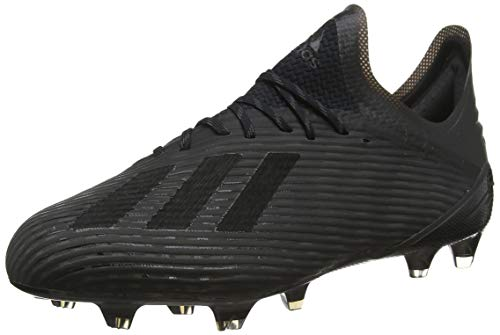 adidas Herren X 19.1 Fg Fußballschuhe, Schwarz (Core Black/Utility Black/Silver Met. Core Black/Utility Black/Silver Met.), 43 1/3 EU