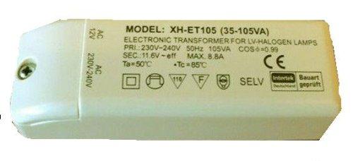 Halogen Trafo XH-ET105 (35-105VA) 105VA 105W 112x39x28mm elektronisch Transformator Neu