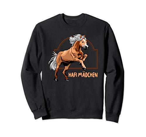 Haflinger Reiterin Pferd Pony Reiten Geschenk Sweatshirt