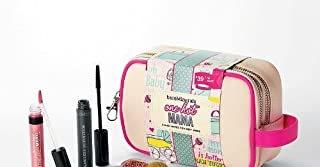 bareMinerals ONE HOT MAMA Cosmetic Case with 5 Must-Haves for Busy Moms