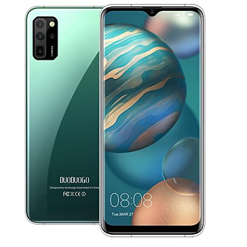 Smartphone Offerta Del Giorno, 6GB RAM 64GB ROM, 6.52 Full Screen, Android 10 Octa Core Cellulare, Batteria 4500mAh, 16MP + 8MP, 4G Dual SIM Face & Fingerprint Unlock Telefoni Mobile (Verde)