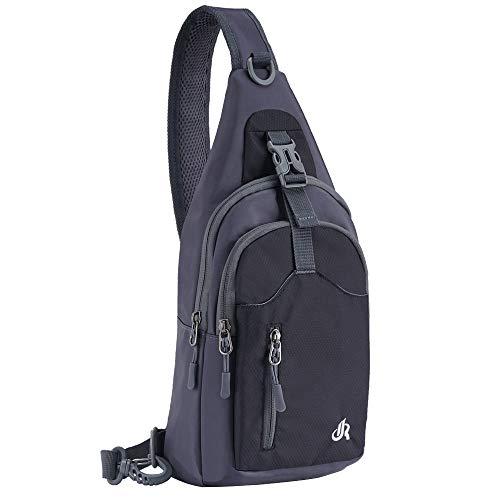 Y&R Direct Sling Backpack Sling Bag Purse Travel Hiking bag for Kids Man Women