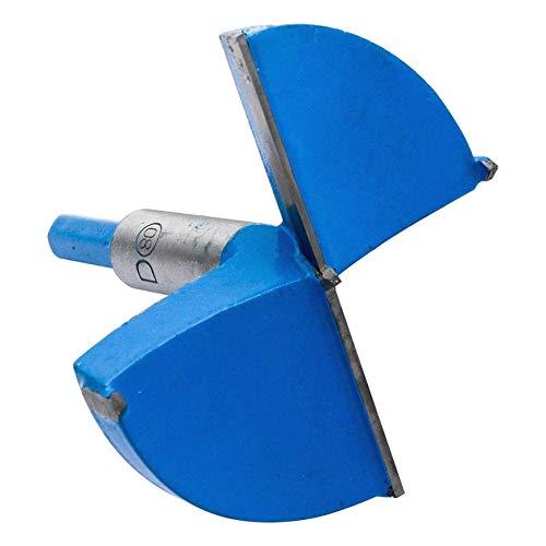 DULALA Brocas de Taladro Forstner de 15 mm a 80 mm Broca para Sierra para carpintería Fresa de diámetro Dia Bisagra de perforación Broca para Sierra para Madera Contrachapado de plástico