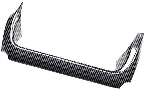 トヨタ ヤリスクロス(2020年9月-) 専用パーツ コンソールスイッチパネルカバー内装 ドレスアップ アクセサリー (デジタルカーボン調)