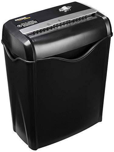 AmazonBasics - Destructora de papel y tarjetas de crédito con...