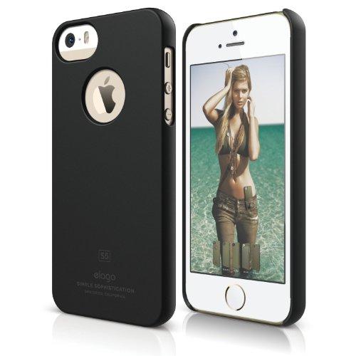 elago Iphone Se Slimfit Case For The Iphone Se/5/5S Soft feeling bl