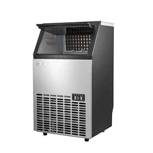 LJYY Gewerbliche Eismaschine Eismaschine Eismaschine Eismaschinen Ausrüstung, Selbstreinigungsfähigkeit.