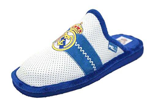 Zapatillas REAL MADRID Andar en casa PIEL (44)