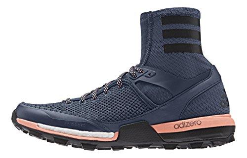 adidas Damen Adizero XT Boost Women Laufschuhe, Blau (Mineral Blau/Night Navy Blau/Sun Glow orange), 38 EU