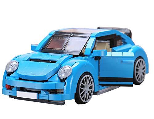Modbrix Bloques de construcción de coche Beetle, 1:14, juguete de construcción con 944 bloques de fijación