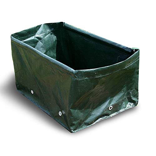 Generic Garden Rectangular Planting Bag Plants Vegetables Durable Grow Bags with Bamboo Pole