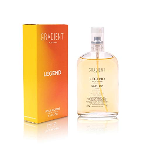 Legend by Gradient Perfumes for Men - 100 ml EDT Spray