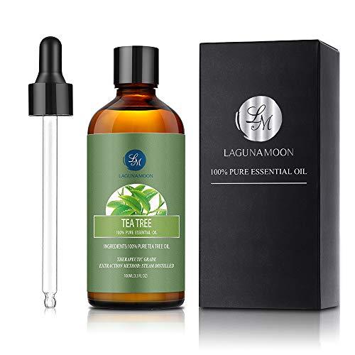 Lagunamoon Aceite esencial de árbol de té, 100 ml.