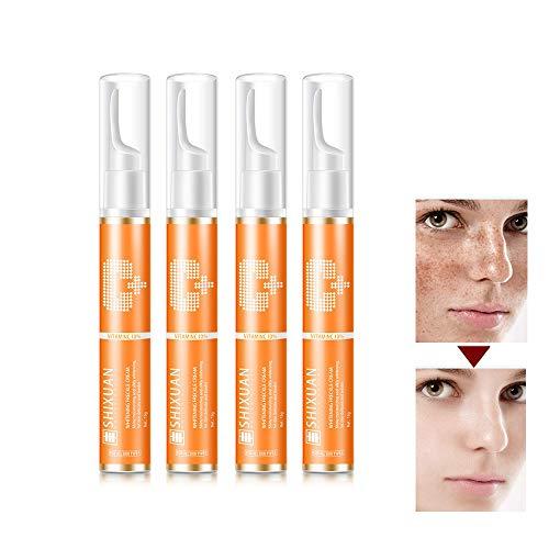 Vc Vitamin Cream,VC Dark Spot Removal SkinWhitening Repair Anti-Wrinkle Skin Whitening Cream for Face/Body (4 PCS)