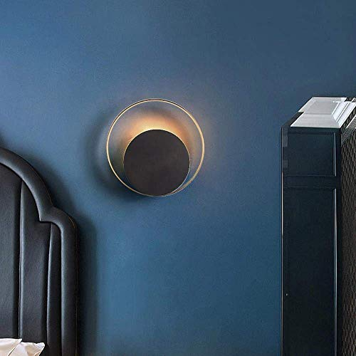 Meixian Wandlamp post modern koper goud met zwarte lamp corpus gang foyer decoratie verlichting Nrodic Creative licht wandlampen eenvoudig retro