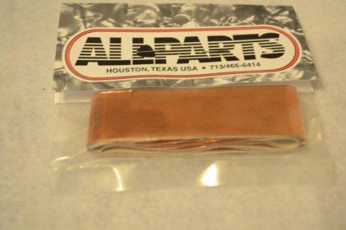 Allparts EP-0499-000 Abschirmtape, selbstklebende Kupferfolie, 1x5
