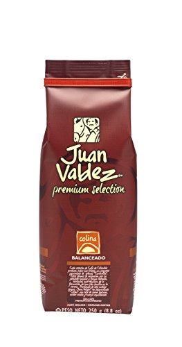 JUAN VALDEZ Colina Colombian Ground Organic Coffee