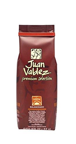 Café Juan Valdez Premium Colina. Café Molido 250g