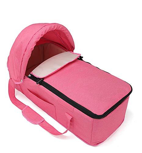 Cama para Bebés Ortable Cesta para Dormir Tumbona, Vaina para Dormir Tumbona para Bebés Cuna Plegable Cuna De Viaje para Bebés Recién Nacidos Red