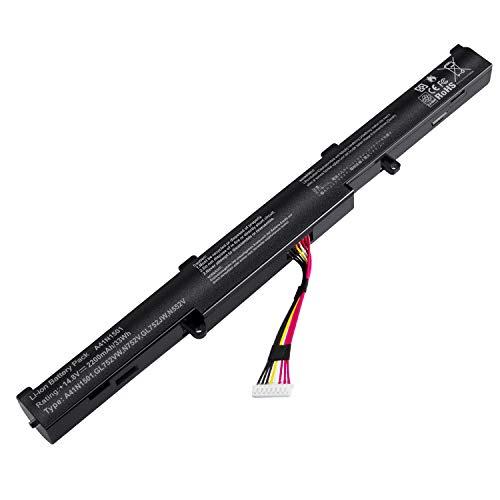 ARyee A41N1501 Akku kompatibel mit Asus N552 N752 GL752 GL752VL GL752VW GL752JW (2200mAh 14,8V)