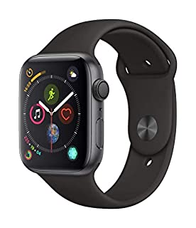 AppleWatch Series4 (GPS, 44mm) - Space Gray Aluminum Case with Black Sport Band (B07K3HLMTF) | Amazon price tracker / tracking, Amazon price history charts, Amazon price watches, Amazon price drop alerts