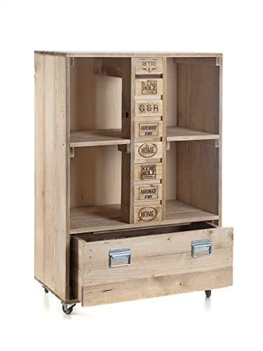 Palettenmöbel Kommode in Palettenoptik Vintage gebeizt. Jedes Möbel ein Unikat und in Handarbeit in Deutschland hergestellt.