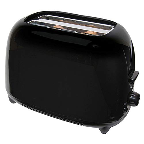 Black 700W Two Slice Cool Touch Toaster with Variable Browning Control