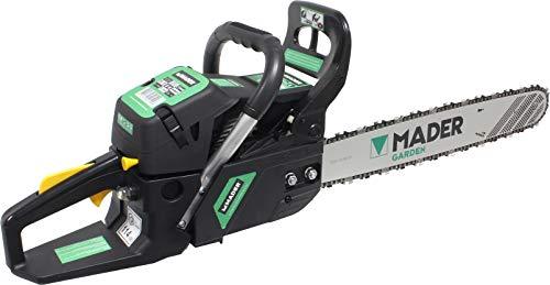 Mader Garden Tools 49199 Motosega 55 cc 20', avviamento morbido, robusto, semplice da manovrare
