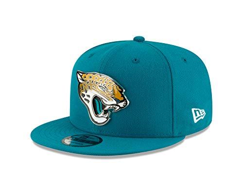 New Era Jacksonville Jaguars Metal and Thread 9FIFTY Snapback Adjustable NFL Hat